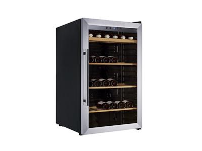 Vinkøleskab 128 Ltr, 1 glaslåge +5/+18