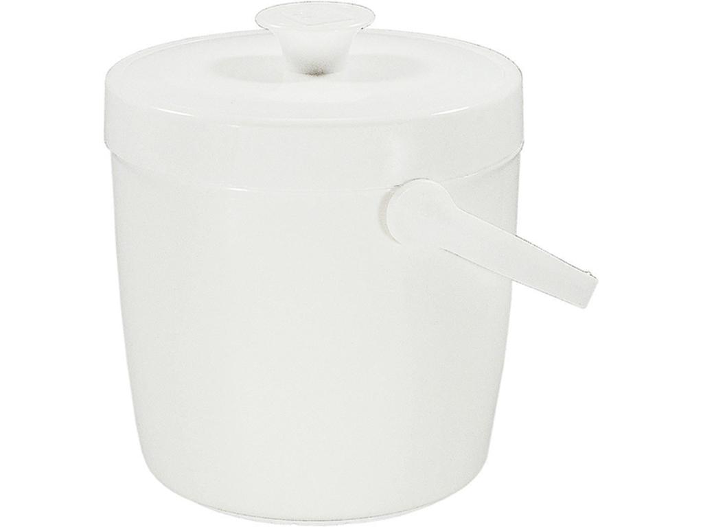 Isspand hvid 2 L isoleret