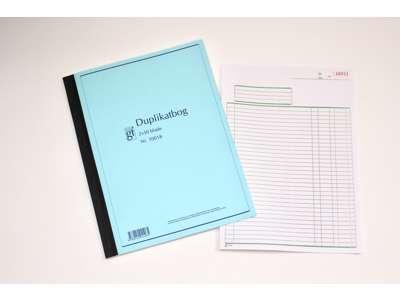 Regningsblokke, Duplikat- & Triplikatbøger