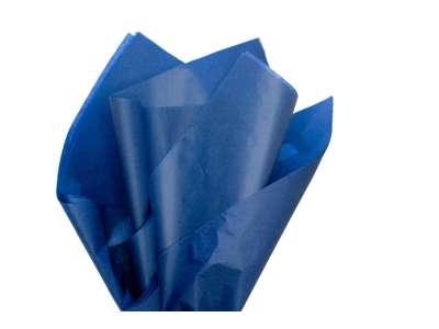 Silkepapir nr.43 Navy blue