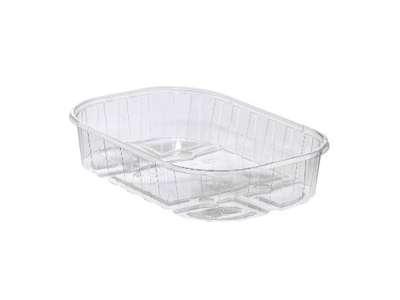 Plastbakker 1/2 kg. 190x115x58mm.(1400)