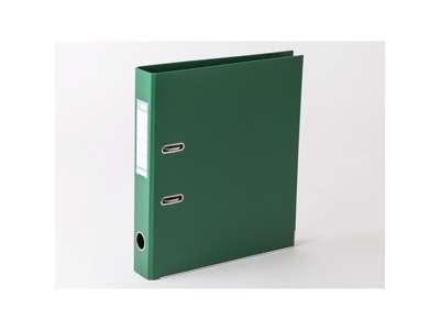 Brevordner A4 5 cm. Grøn.