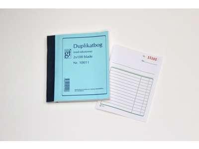 Duplikatbog 10011  m/talkollone