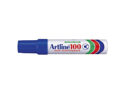 Artline 100 marker blå 7,5 - 12 mm.
