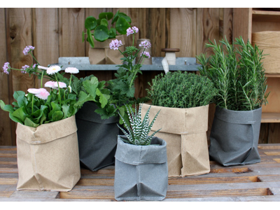 Æsker og urtepotteposer