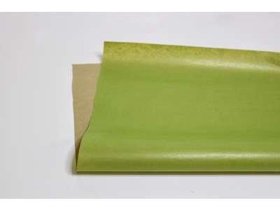 Ensfarvet blomsterpapir i ark