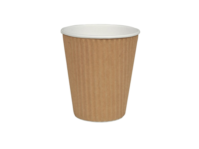 Kaffekopper  24cl 8oz  Ripple Wrap