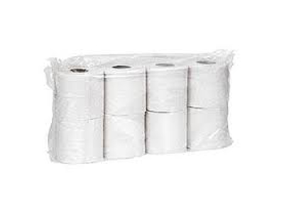 Toiletpapir 2 lags hvid (64)