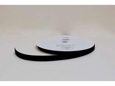 Velourbånd sort 16mm x 20m