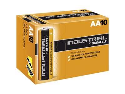 Batterier AA Duracell 10 satk./ pk.