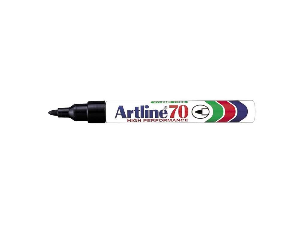 Artline 70 marker sort 1,5 mm.