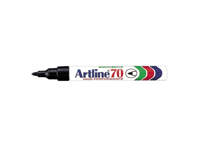 Artline 70 marker sort 1,5 mm.