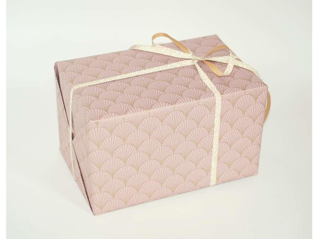 Gavepapir vifte rosa 55cmx150m