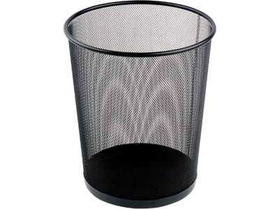 Papirkurv tråd sort