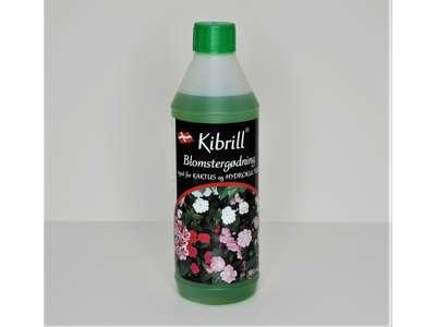 500 ml. Kibrill blomster og kaktusgødning