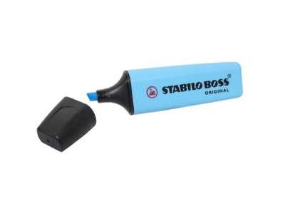Textmarker Stabillo Boss  blå