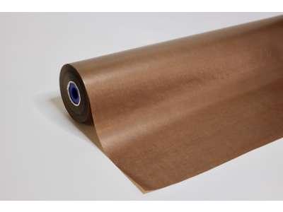 Blomsterpapir chokolade brun