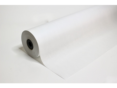 Hvid kraft mønsterpapir 70cmx250m 45g