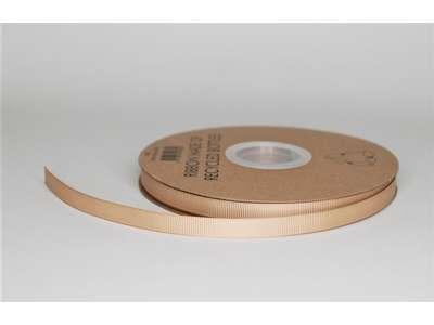 Genbrugsbånd 9mm rillet natur