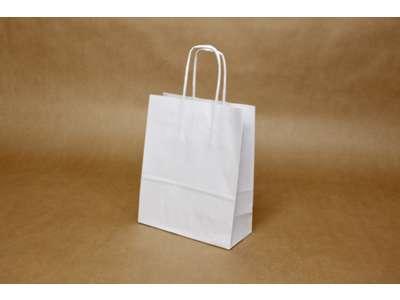 Bæreposer hvide 4,5 L. 90g