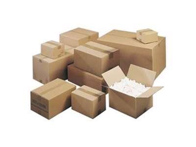 Forsendelse /papkasser/bobleplast/ konvolutter/tape/flytning