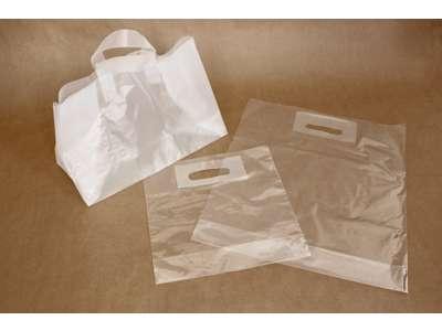 Plastik Bærepose klare /frostet