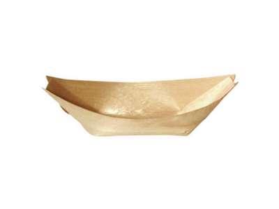 Træbåd 11 cm., fyrrespån, 100 stk./ps