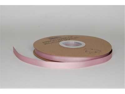 Genbrugsbånd 9mm rillet gl. rosa