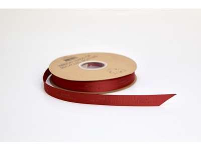 Genbrugsbånd rillet 16mm rød