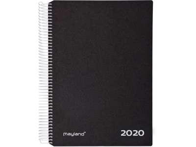 Mayland Timekalender 2020 hård PP sort