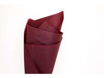Silkepapir nr.72 Burgundy