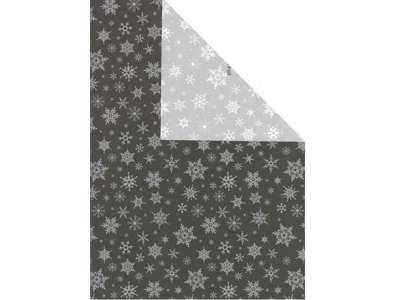 Julepapir 2-sidet isadora 40cm