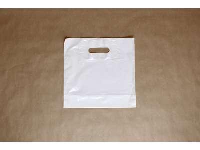 Bærepose øl hvid 29x29/5 cm. pakke med 1000 stk. minimum køb