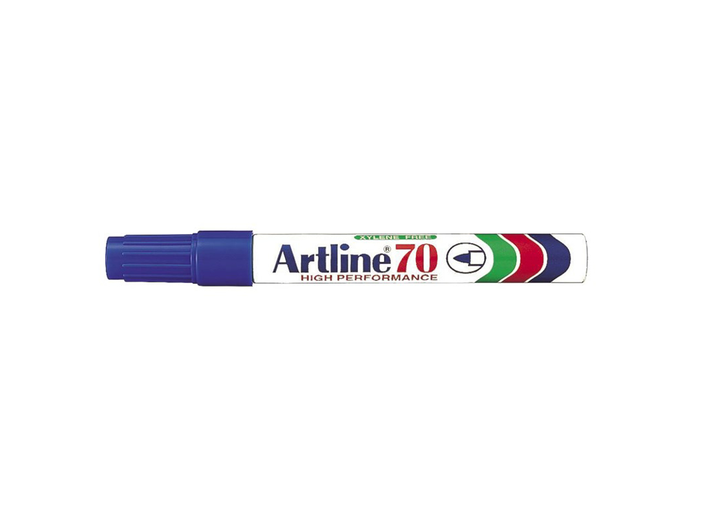 Artline 70 marker blå 1,5 mm.