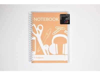 Notesbog A4 - 9 faner