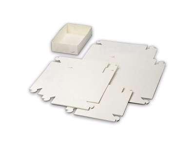 Kageæsker 1201 15x15x4,5 cm. Hvid