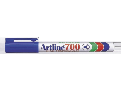 Artline 700 marker blå 0,7 mm.