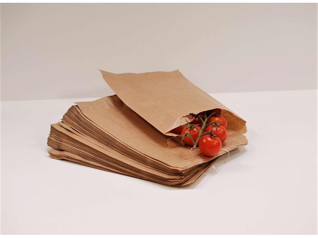 Poser 13-7 2kg  brun pakke med 500 stk. minimum køb