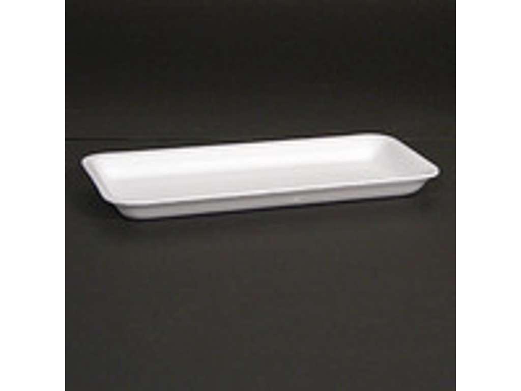 Skumbakke 75,  37-16 hvid EPS 270x135x16mm