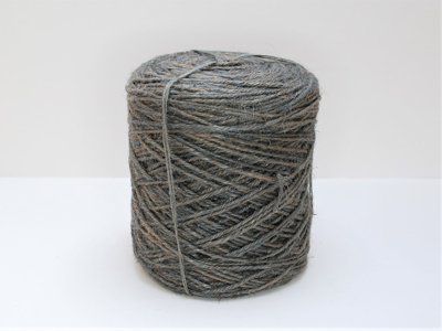 Flax cordel grå 1kg 470m