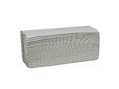 Håndklædeark u/ farve 1 lags 25 x 31cm. 4000 ark/krt.