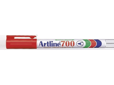 Artline 700 marker rød 0,7 mm.