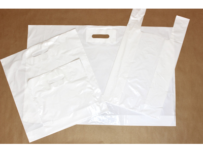 Plastik Bærepose hvide