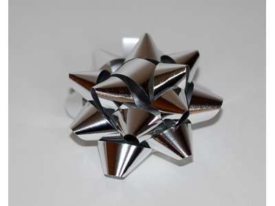 Metallicsløjfer - Sølv