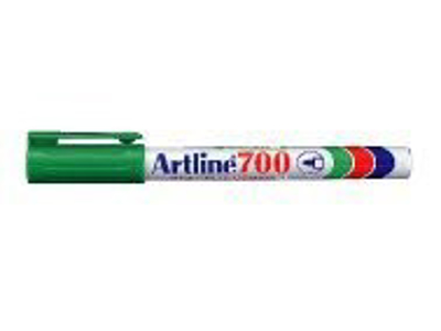 Artline 700 marker grøn 0,7 mm.