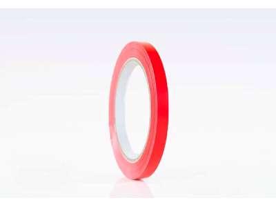 Tape 66m x12mm rød