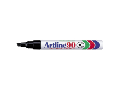Artline 90 marker sort 2,00 - 5,0 mm.