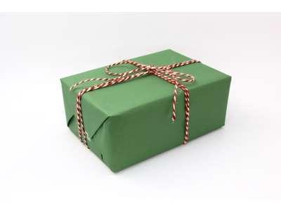 Gavepapir grøn genbrug 40 cm