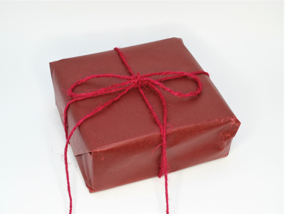 Voxet papir rødt 70cmx50m