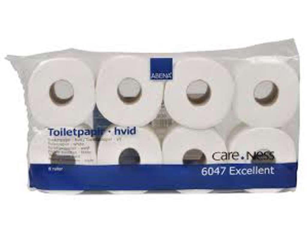 Toiletpapir soft 3 lags 72 rl.